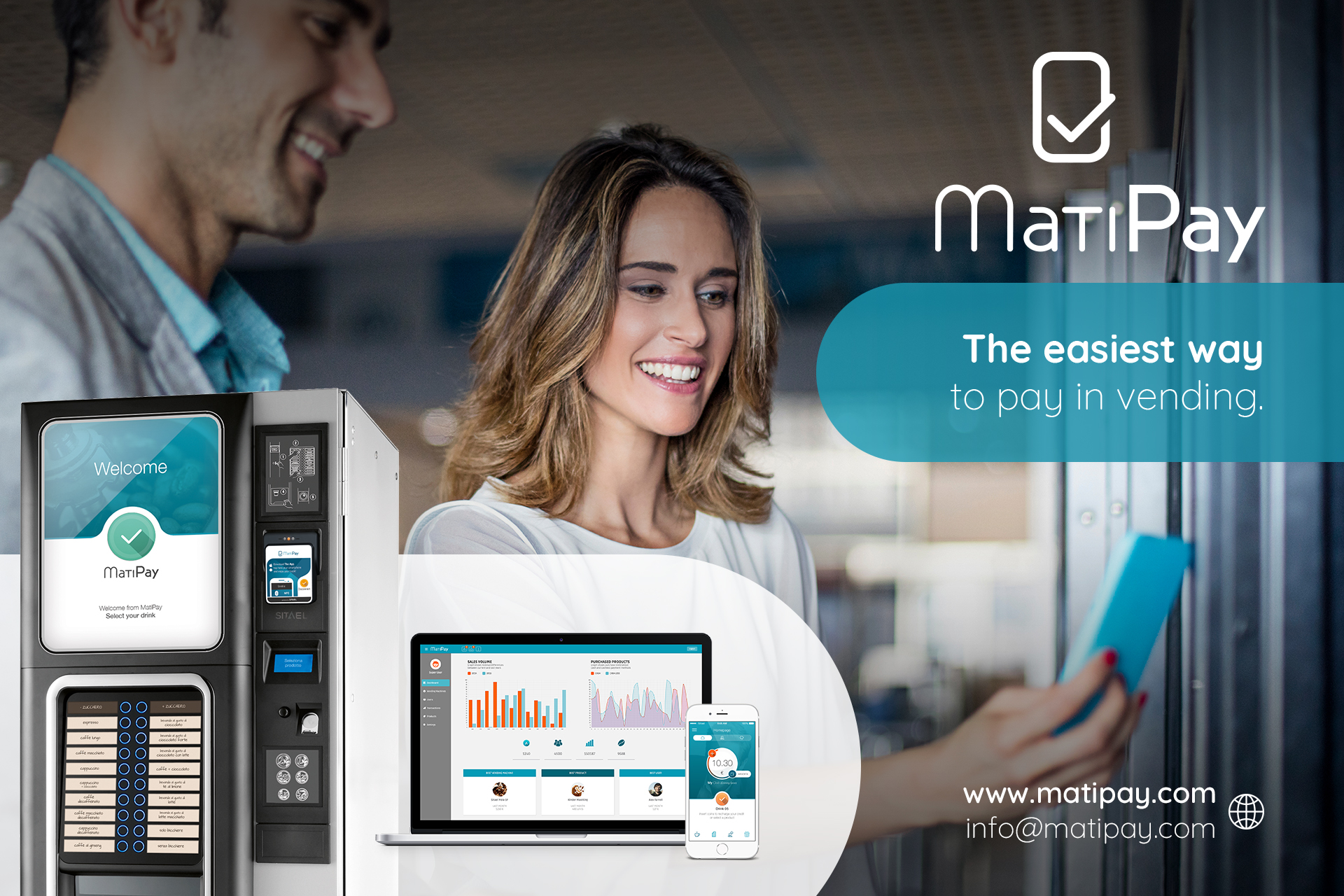 MatyPay MatyPay - Mobile Payment System for Vending Machine