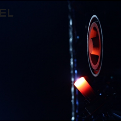 SITAEL HT100 Thruster coupled with SITAEL HC1 Cathode