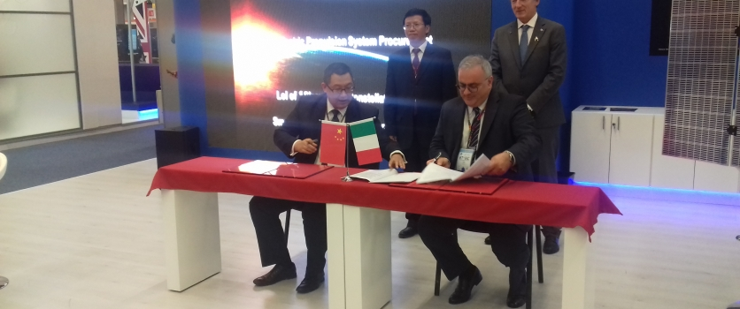 SITAEL signs two important agreements with China HEAD