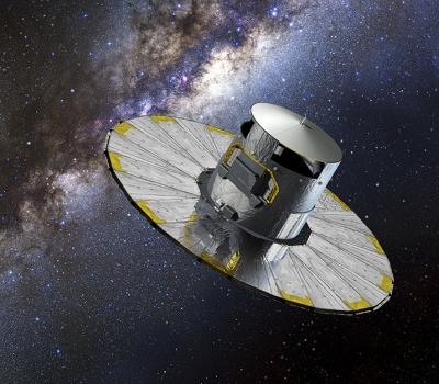 GAIA maps 1 billion stars