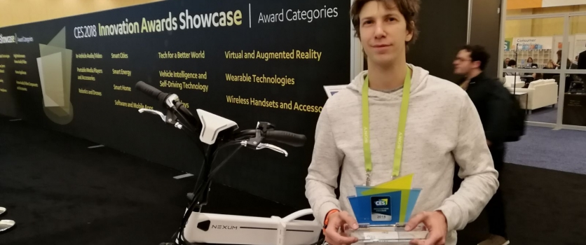 SITAEL is the only Italian Company awarded at CES 2018