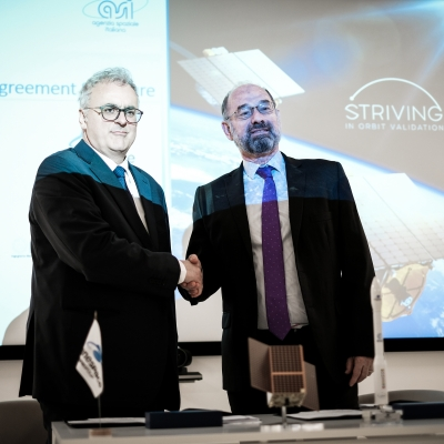 ARIANESPACE TO LAUNCH THE FIRST STRIVING SMALL SATELLITE FOR SITAEL ON VEGA'S SSMS POC FLIGHT