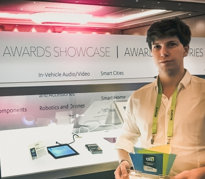 SITAEL awarded at CES 2019 Innovation Awards with MatiPay