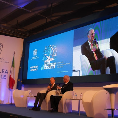 Industry 4.0 – SITAEL hosted the General Assembly of CONFINDUSTRIA Bari and BAT