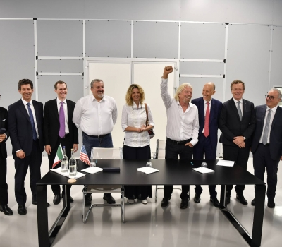 Virgin Group and SITAEL sign agreements for long-term collaboration and investment