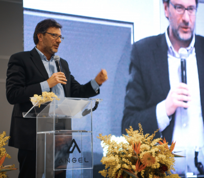 Angel Group presents its research and innovation agenda to Undersecretary Giorgetti
