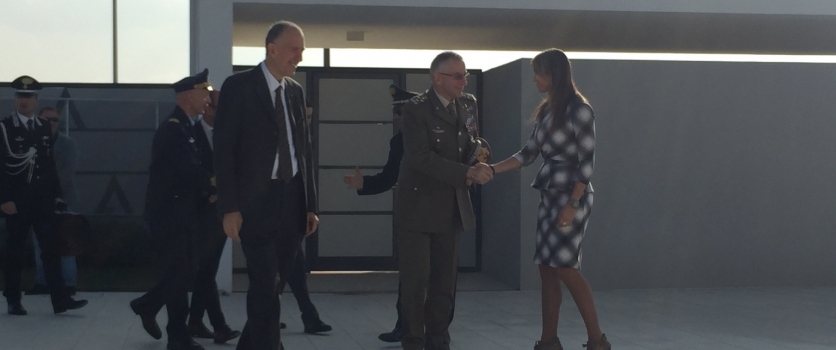 Visit of the Italian Chief of Defense to SITAEL Headquarters