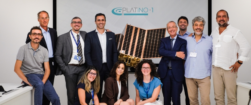 Kick Off meeting of PLATiNO-1: the first satellite embarks a SAR payload.